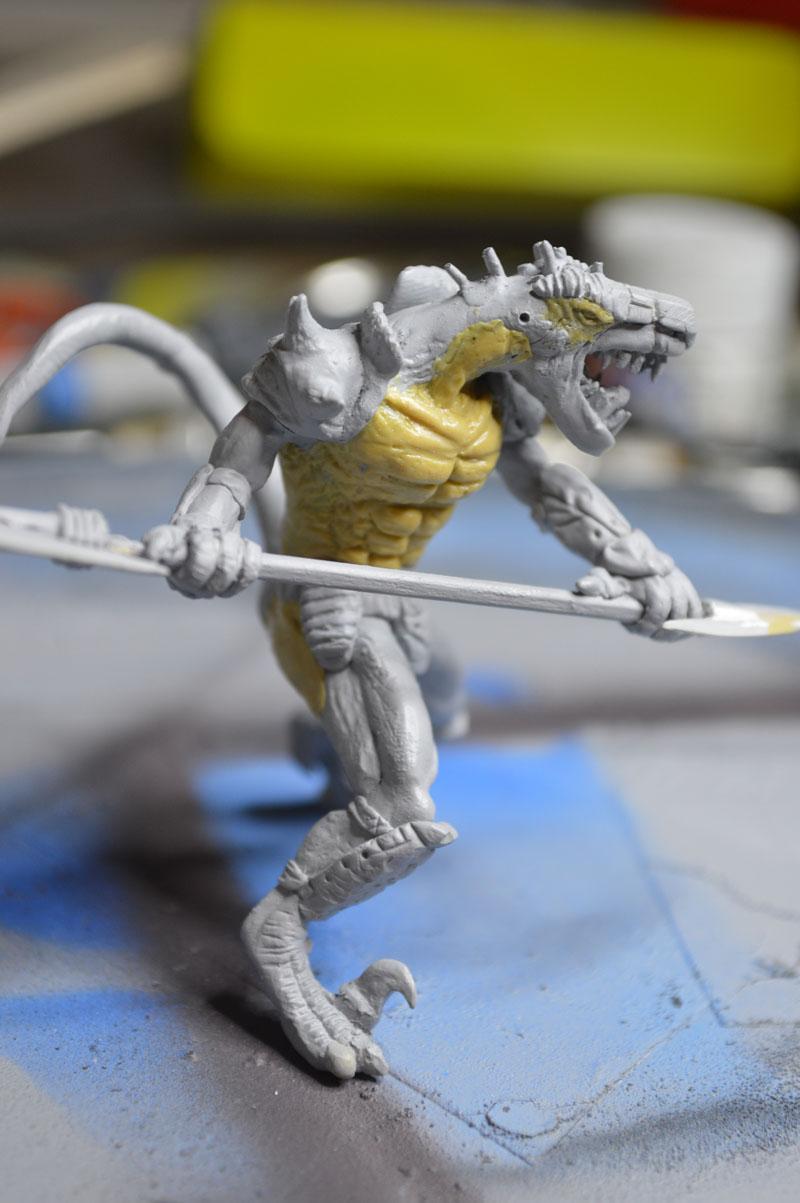 Mutant Velociraptor 6cm - Page 2 MiniSculpture77