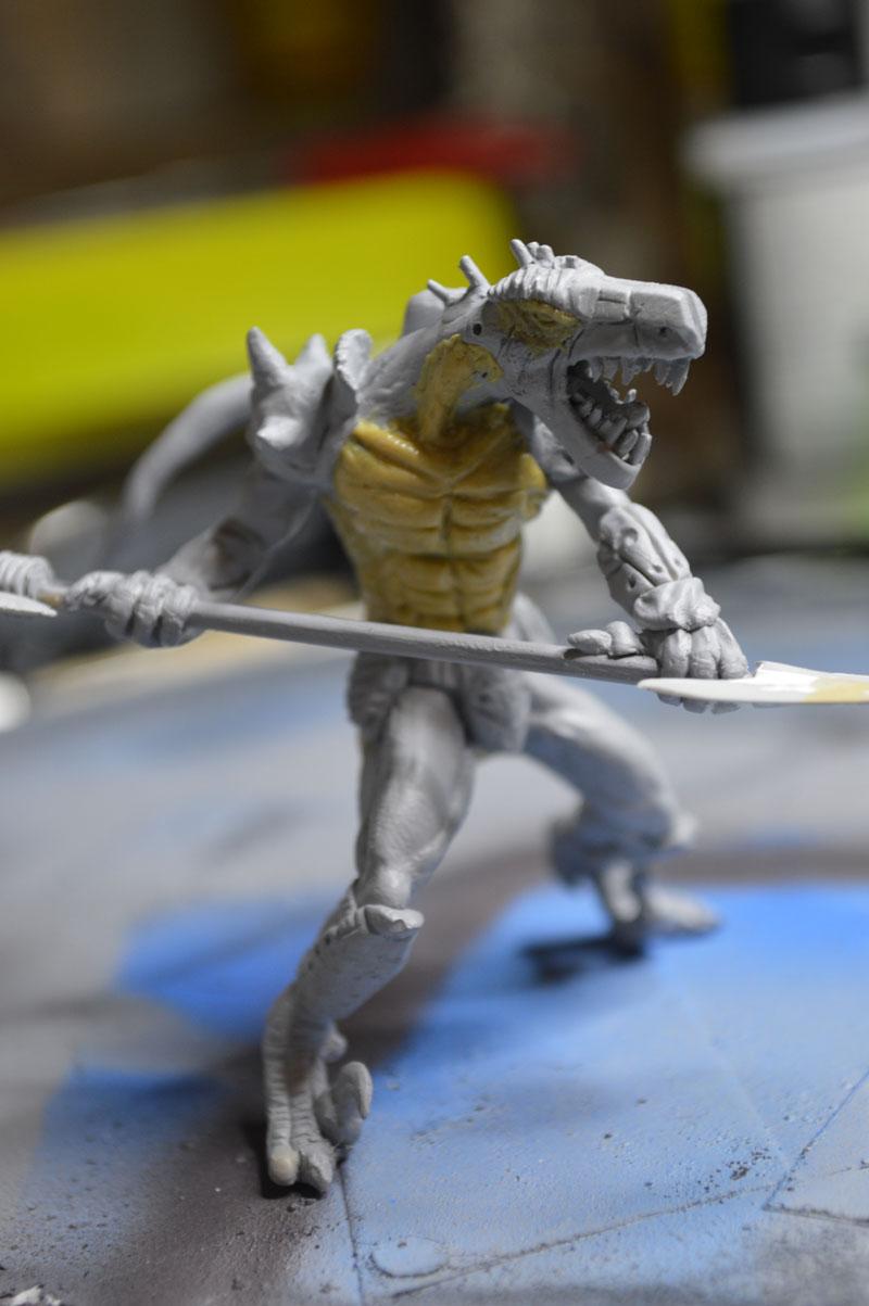 Mutant Velociraptor 6cm - Page 2 MiniSculpture79
