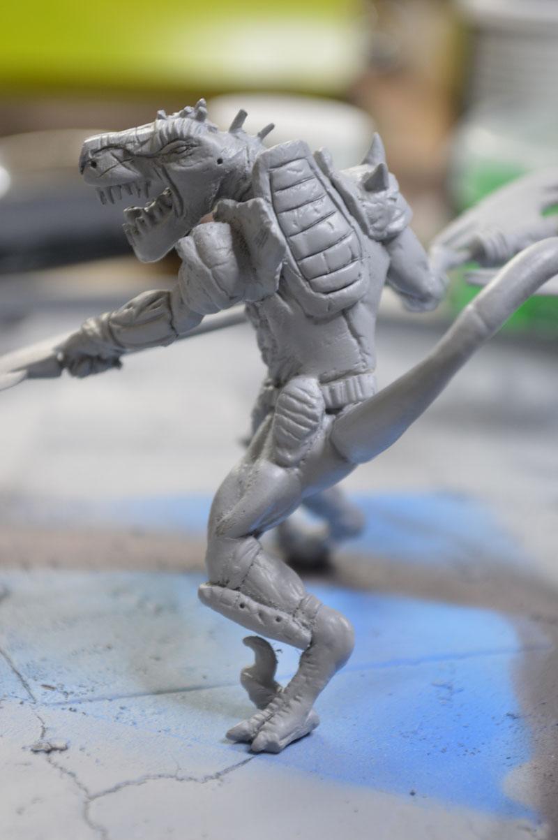 Mutant Velociraptor 6cm - Page 2 MiniSculpture82
