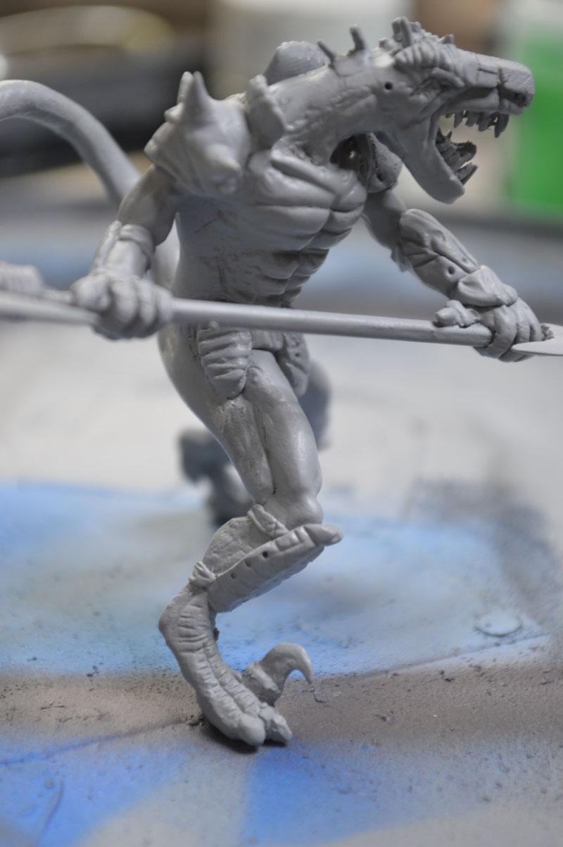 Mutant Velociraptor 6cm - Page 2 MiniSculpture83
