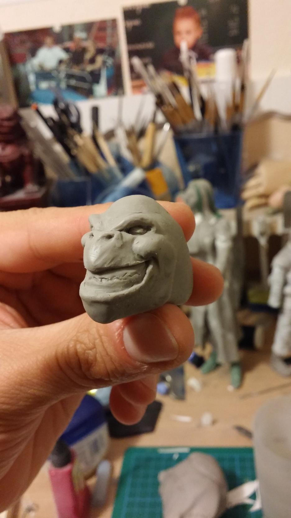 Du dessin à la sculpture MonstreSerpent01