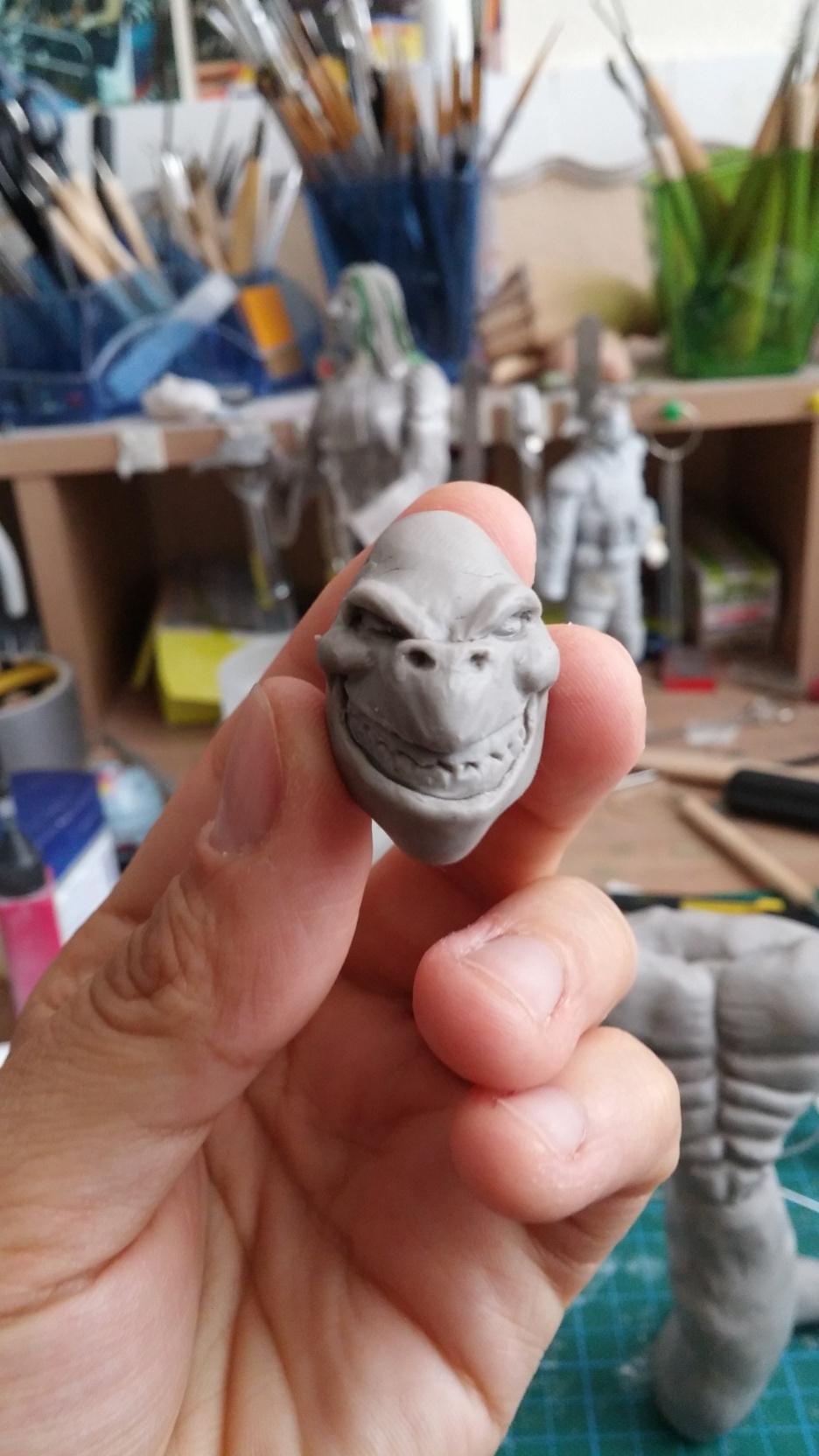 Du dessin à la sculpture MonstreSerpent09