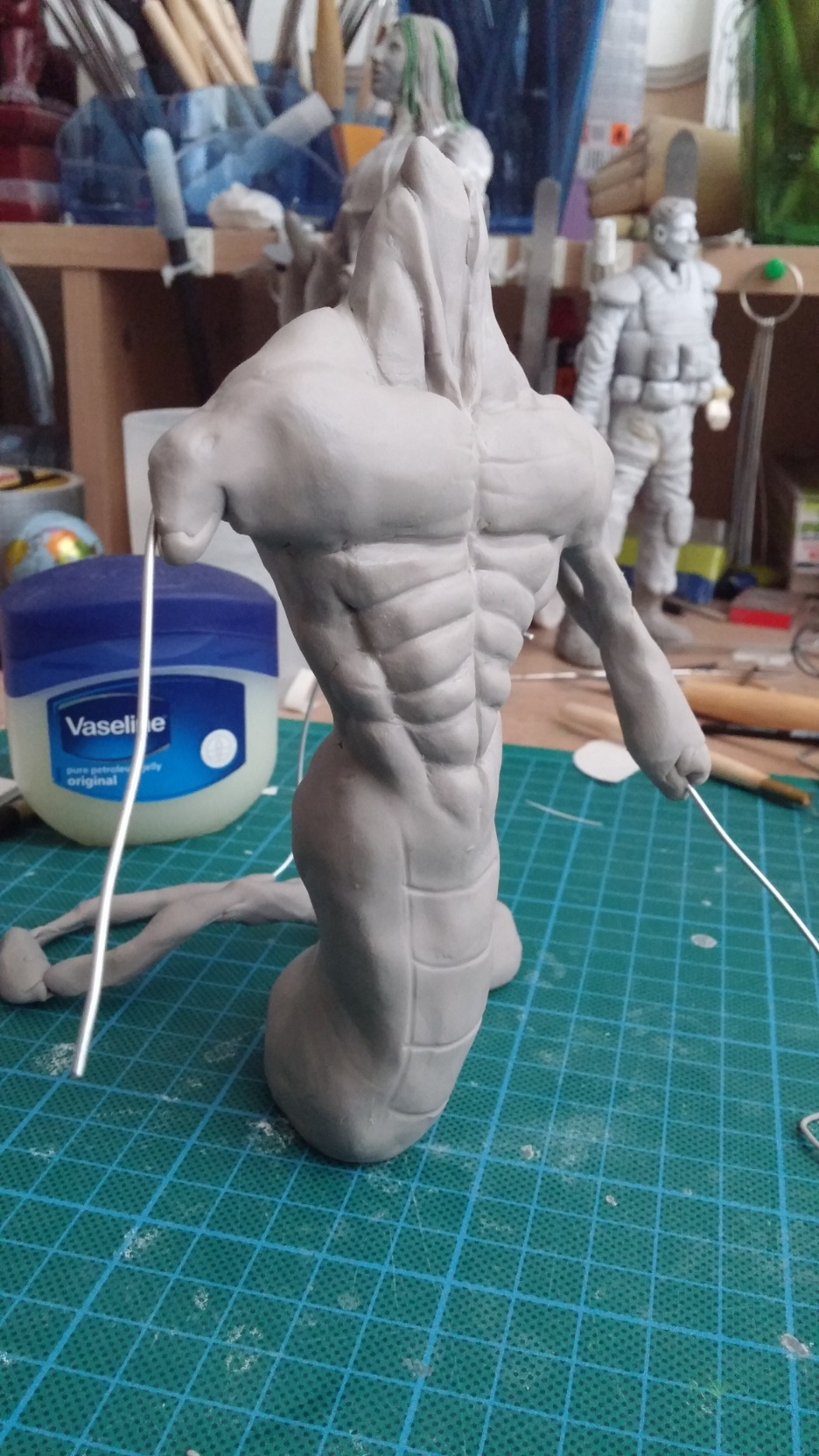 Du dessin à la sculpture MonstreSerpent19