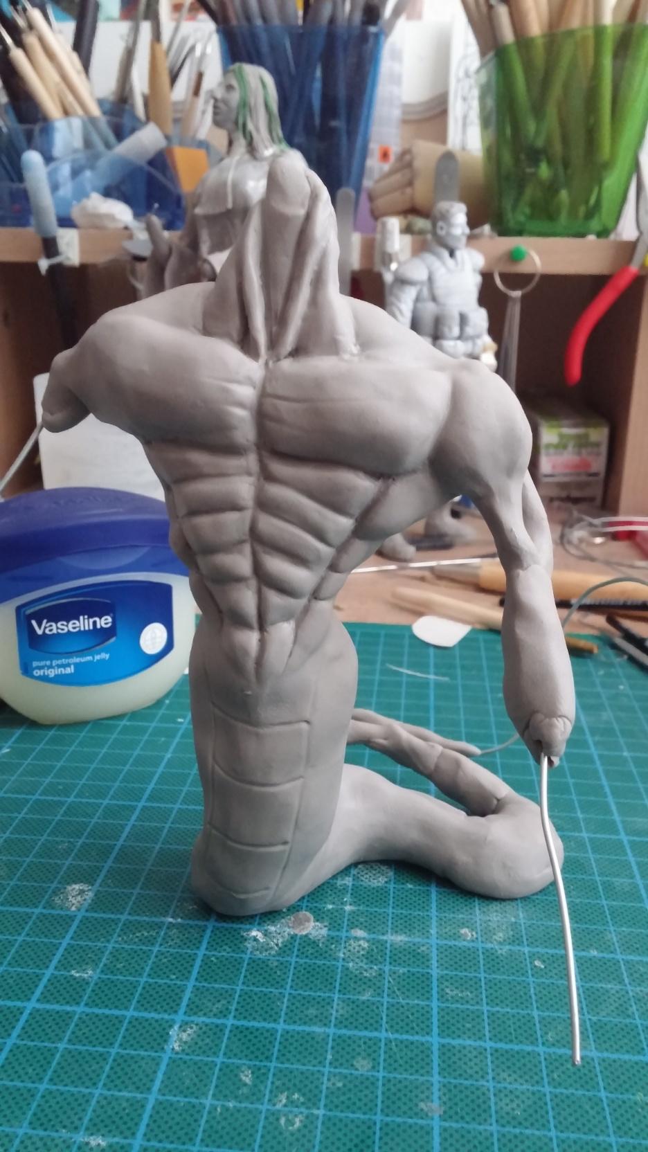 Du dessin à la sculpture MonstreSerpent20