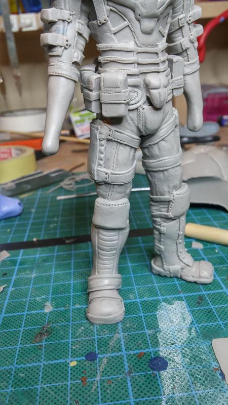 Sculpture guerrier - Page 2 Rage38