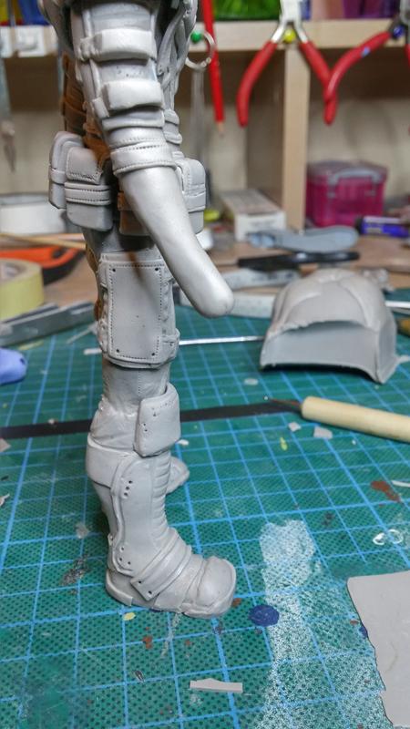 Sculpture guerrier - Page 2 Rage39