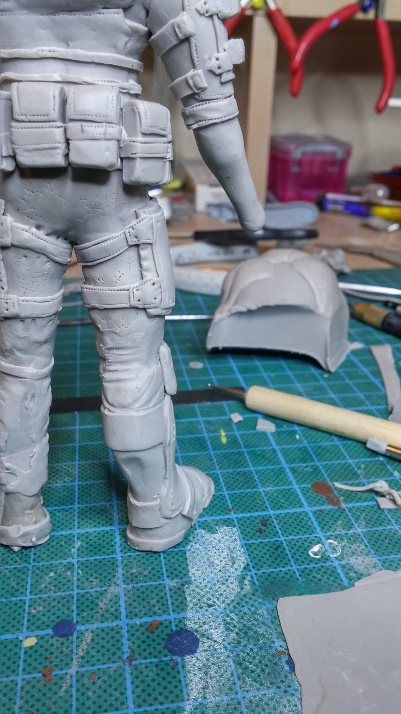 Sculpture guerrier - Page 2 Rage40