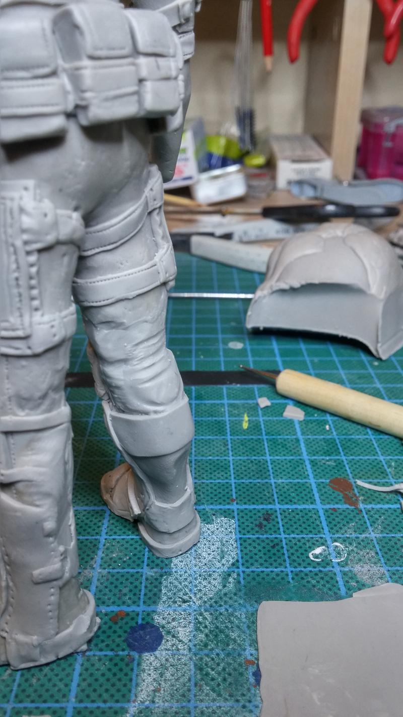 Sculpture guerrier - Page 2 Rage41