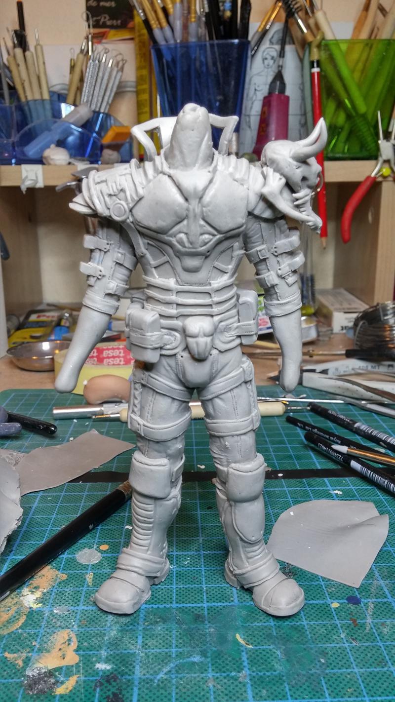 Sculpture guerrier - Page 2 Rage46