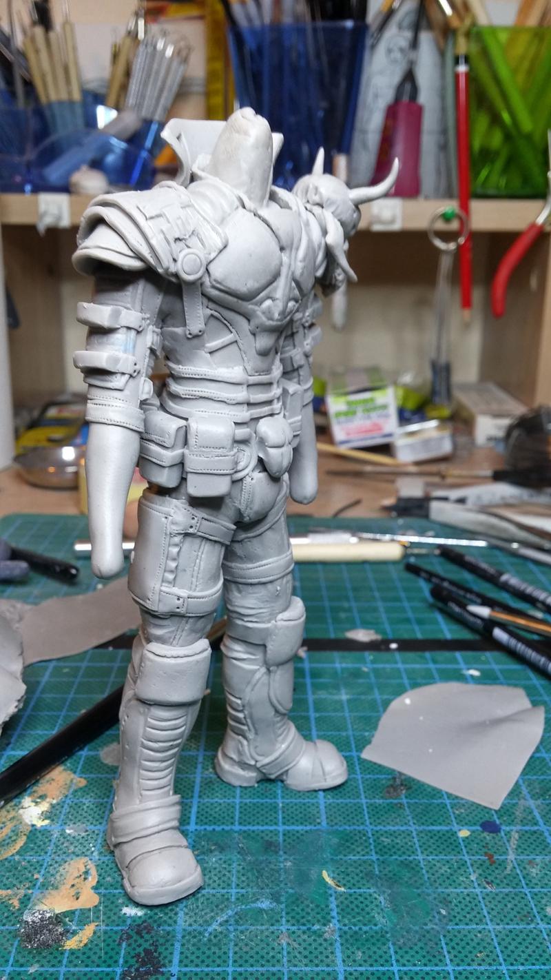 Sculpture guerrier - Page 2 Rage47