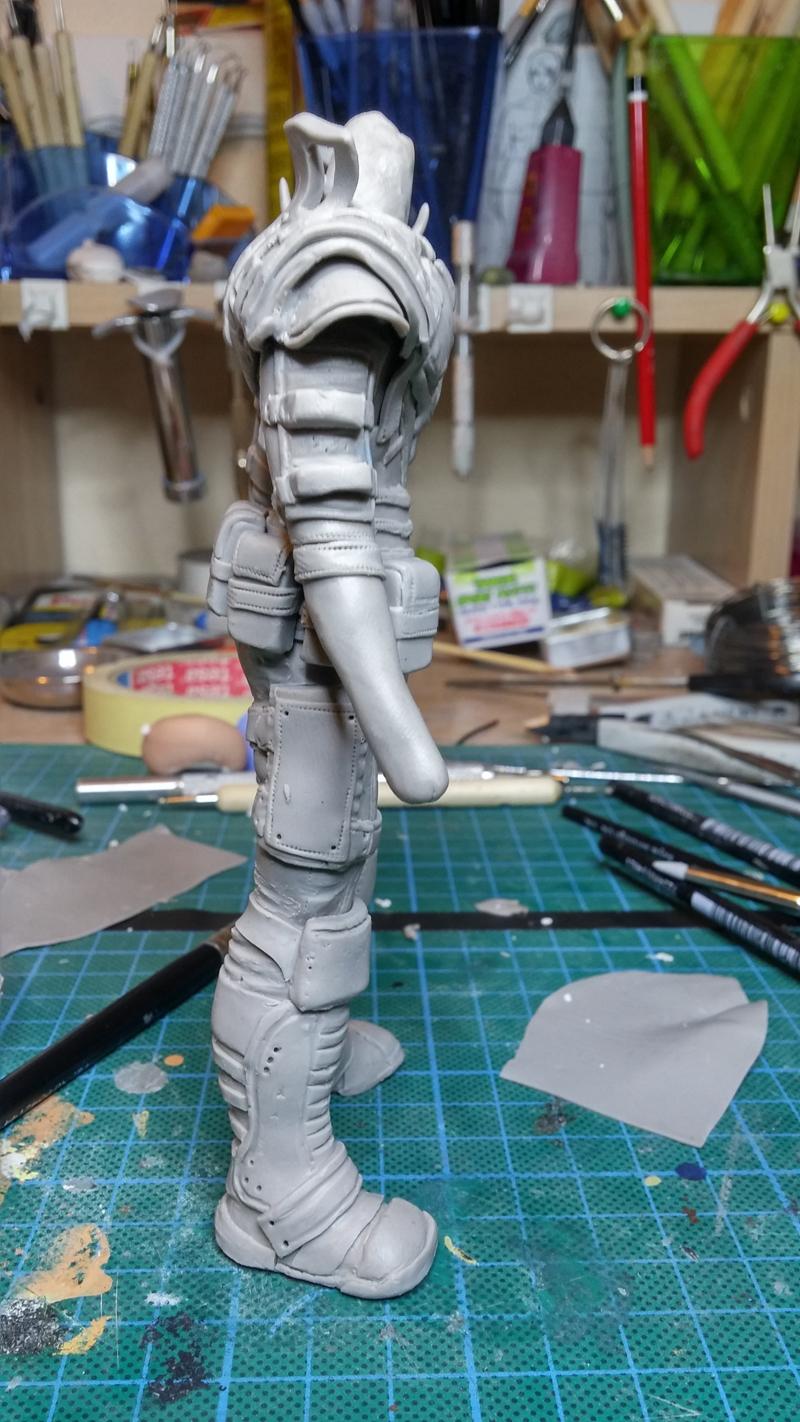 Sculpture guerrier - Page 2 Rage48