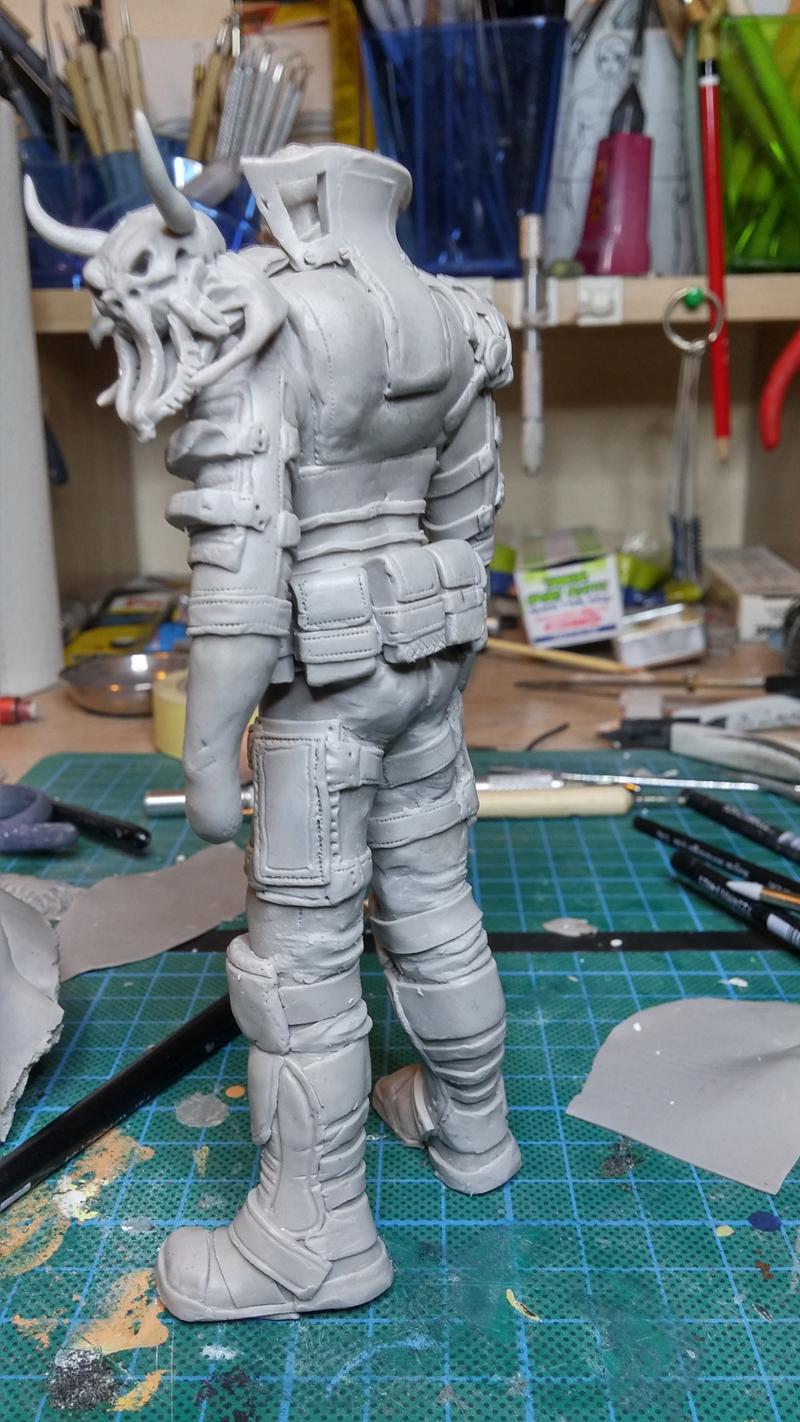 Sculpture guerrier - Page 2 Rage50