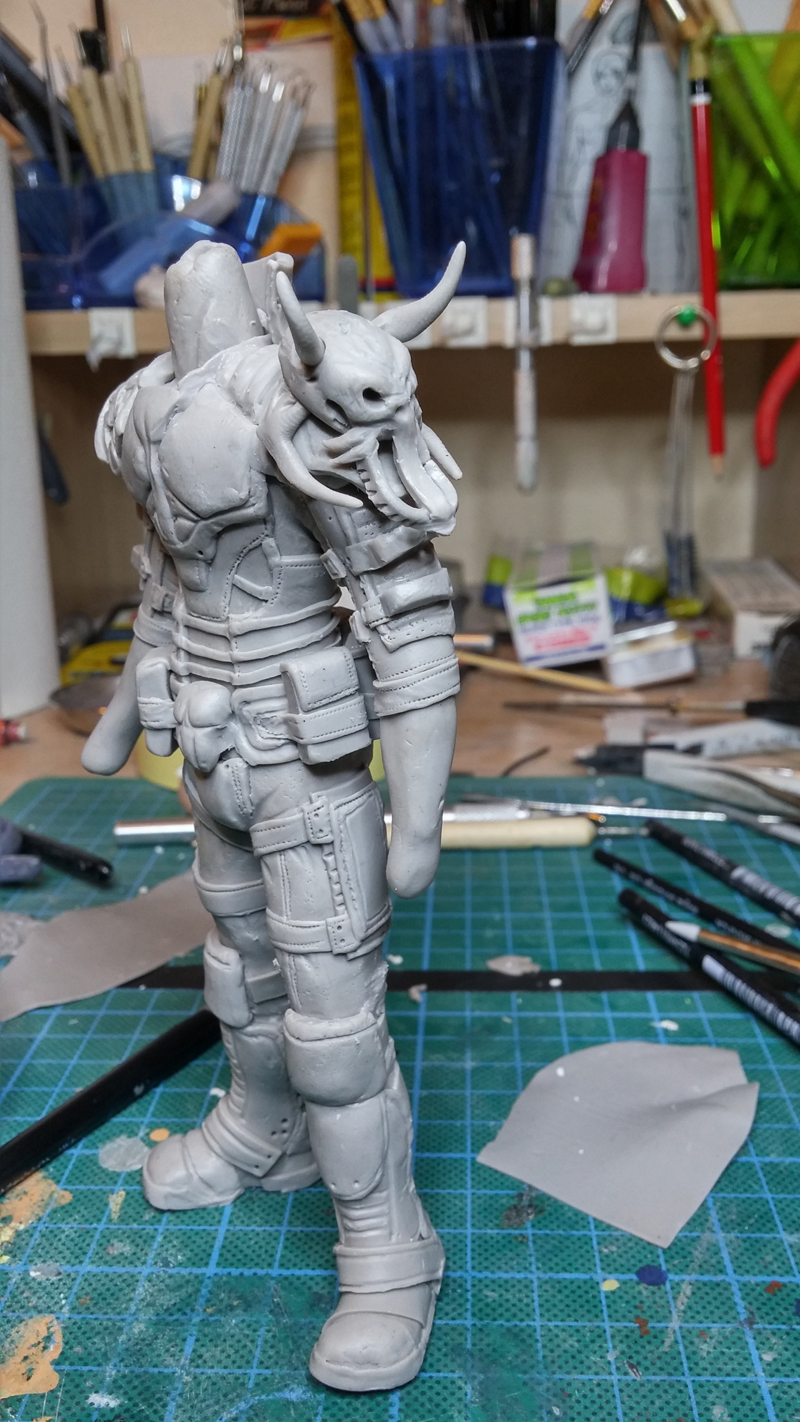 Sculpture guerrier - Page 2 Rage52