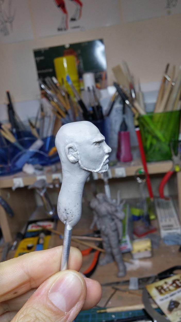 Sculpture guerrier - Page 2 Rage70