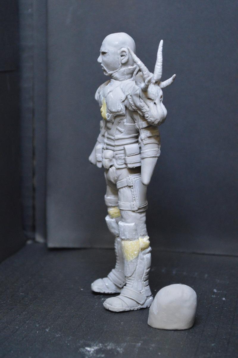 Sculpture guerrier - Page 2 Rage76