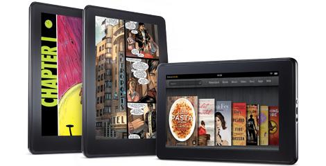 Amazon presenta su tableta Kindle Fire, dura competencia para el iPad KO-aag-books