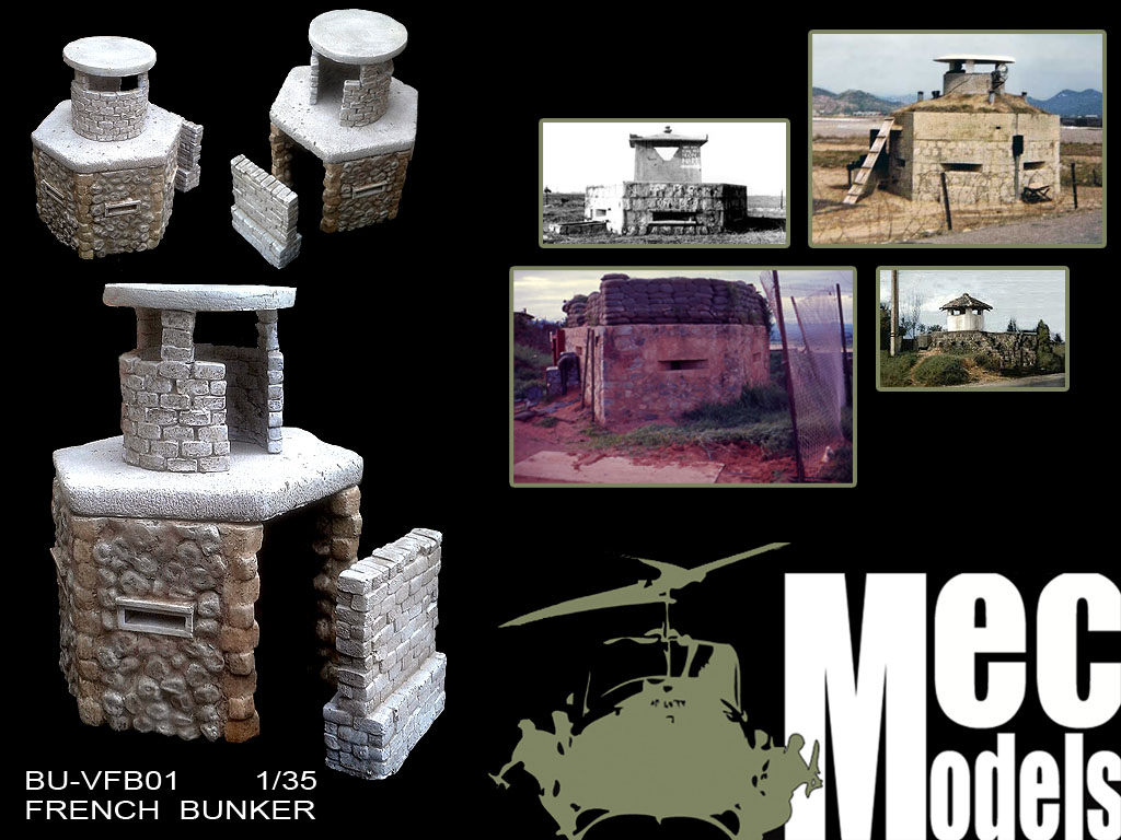 MecModels new release: French bunker BU-FB01-French-bunker