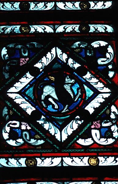 Les vitraux  du XIIIéme siècle . M0540csds