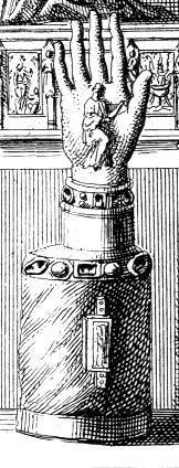 Description des piéces de  la planche I de Félibien Pl1-g