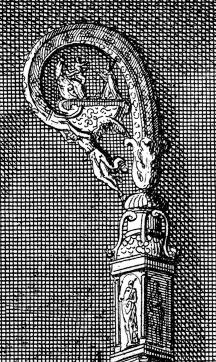 Description des piéces de  la planche I de Félibien Pl1-m