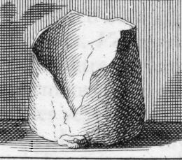 Description des piéces de  la planche I de Félibien Pl1-r