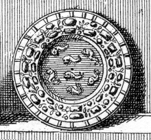 Description des piéces de la planche III de Félibien   Pl3-r2