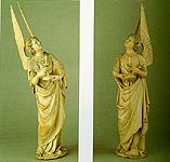 Description des piéces de  la planche I de Félibien Angels1