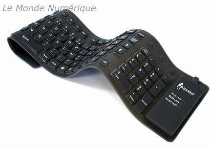 Logitech invente... le clavier lavable! Amarina-clavier-flexible