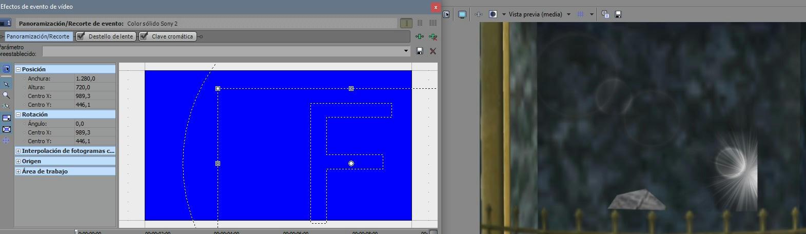 Tutorial Sony Vegas: Chroma key, uso eficaz y explicación 45k24d522lw08gbzg