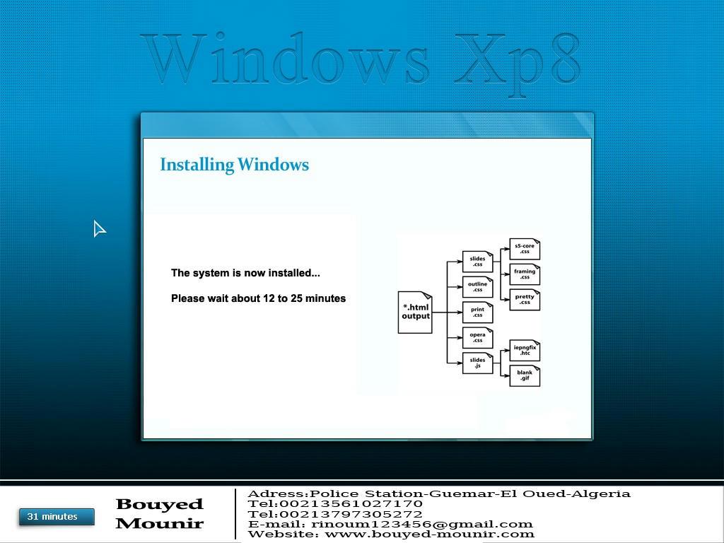 نسخة خطيرة Windows XP8 Otloqo4657f4a2ufg