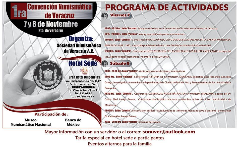 I Convención Numismática de Veracruz (México) 1ih13kuxc786182fg
