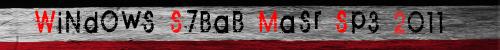 """نسخة الاكس بي الرائعه """" ويندوز شباب مصر """" WiNdOwS S7BaB MaSr Sp3 2011 نسخة ممتازة بمساحة 630 ميجا عل Ad3579b2229affe119a34a78c39155e661dc1e0678a77004c938f71b5ea922874g"""