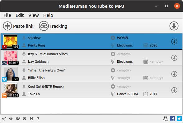 Convert Youtube To Mp3 - Adding Features To Youtube Thumbnail-ubuntu