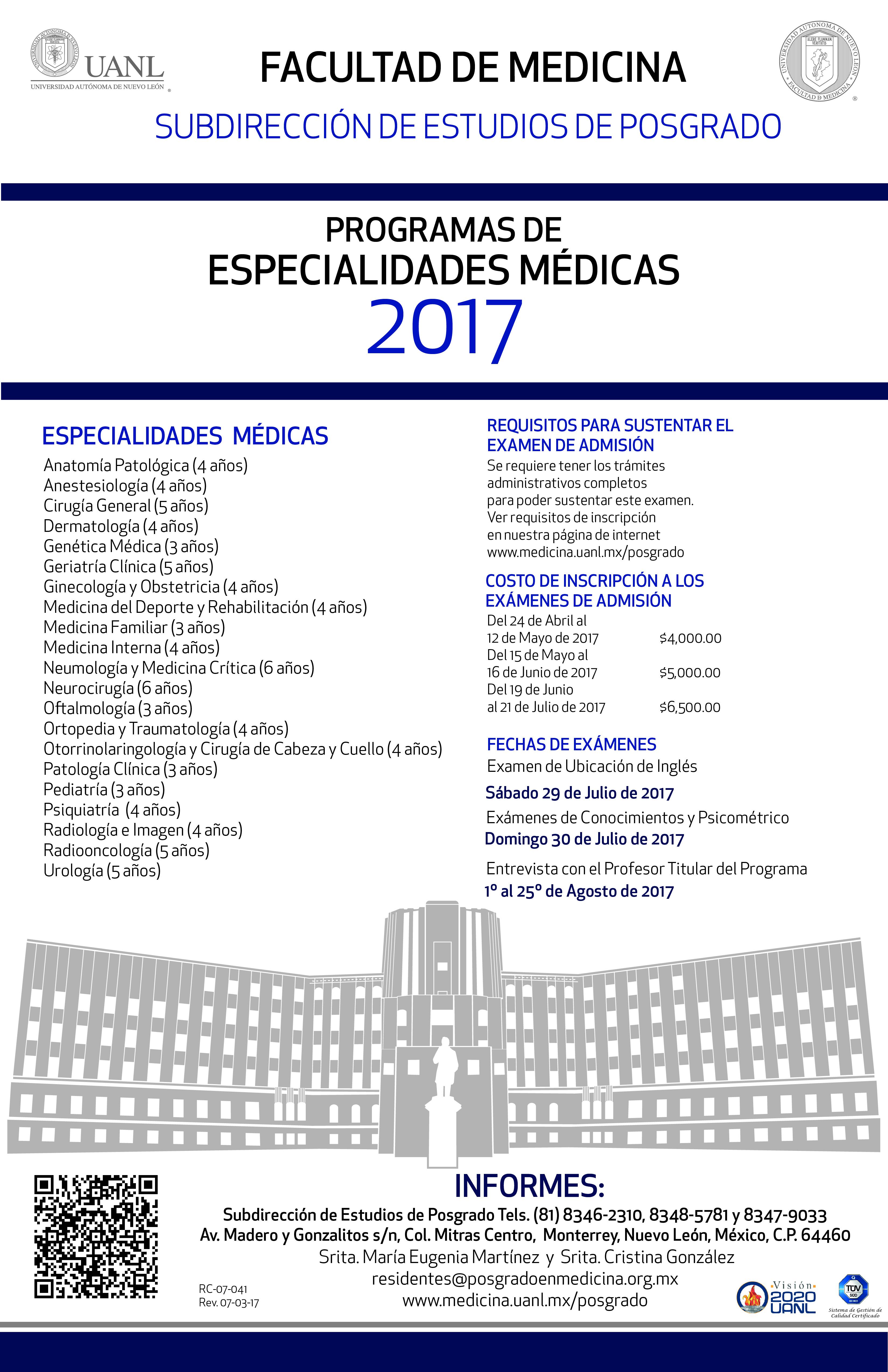 2018 - Convocatoria HU UANL 2017  - Página 5 Poster-2017