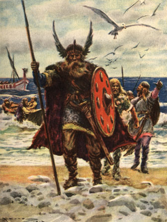 ¿Quién fue el primer europeo en descubrir América?  Eric-the-Red