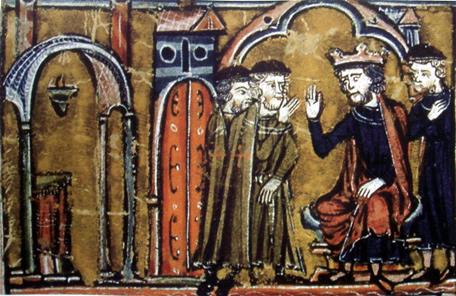 Caballeros cruzados y templarios Balduino_ii_de_jerusalen_cede_el_templo_de_salomon_a_los_templarios