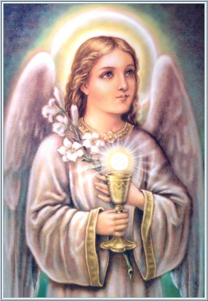 ملاك فى مهمة رسمية على الارض Eucharistic-angel
