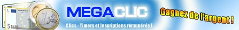 Inscrivez-vous sur MegaClic.fr
