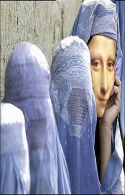 La burqa et le string. - Page 3 Megamonalisa_burka-lisa