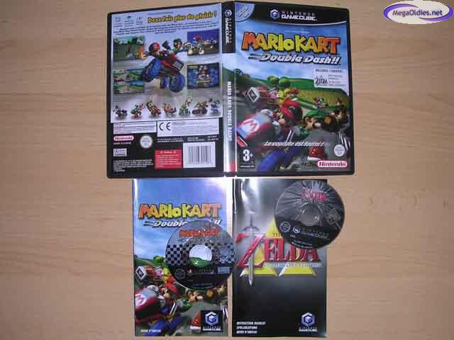 Pak Mario kart double dash + zelda collector edition 9852_1