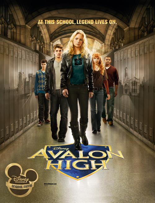 [Disney Channel Original Movie] Avalon High : Un Amour Légendaire (2010) AvalonHighAd_low