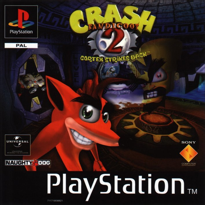 Crash Bandicoot 2 sa emulatorom za PC Crash_Bandicoot_2_PAL-front