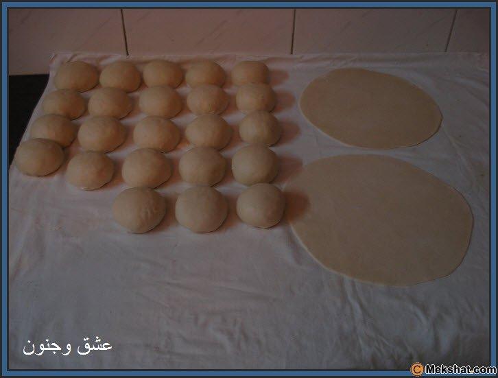 طريقه عمل الخبز بالصور روعه Mk40119_14