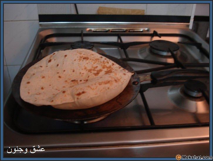 طريقه عمل الخبز بالصور روعه Mk40119_16