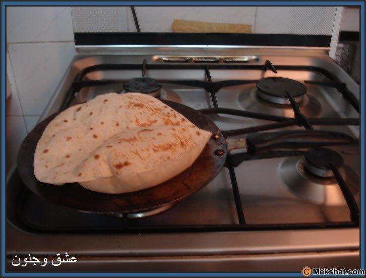 طريقه عمل الخبز بالصور روعه Mk40119_17