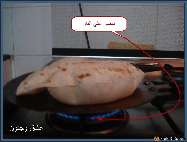 طريقه عمل الخبز بالصور روعه Mk40119_18