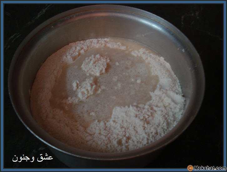 طريقه عمل الخبز بالصور روعه Mk40119_7