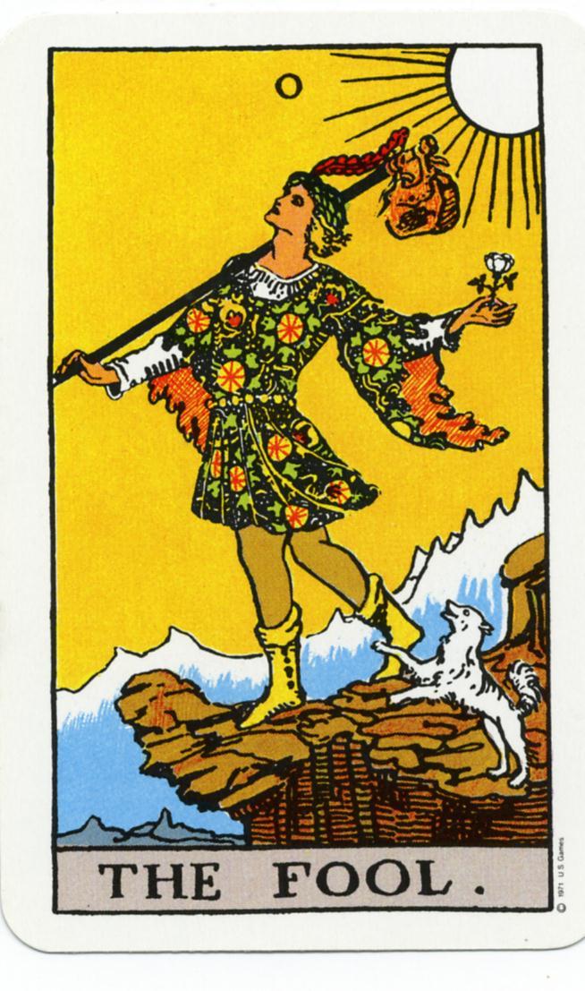 El Retorno de los Cutres The-fool-tarot
