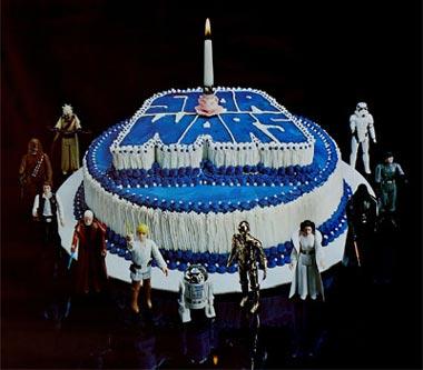 Feliz Cumpleaños Qui Gon! Pastel