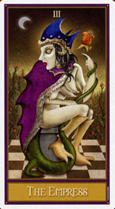 "Колода  ""Deviant Moon Tarot"" 3amoon"